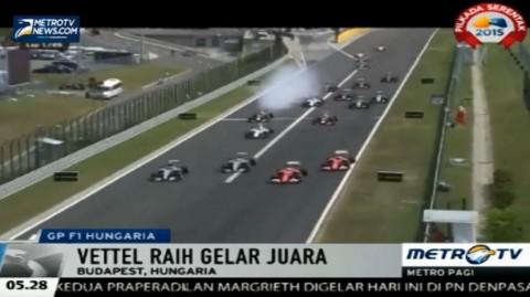 Vettel Juara GP Hungaria