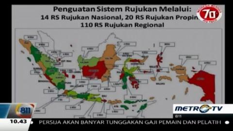 Kemenkes Siapkan 14 RS Rujukan di Seluruh Indonesia