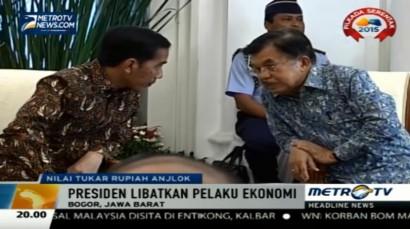 Jokowi Undang Pengusaha Hadiri Ratas Ekonomi