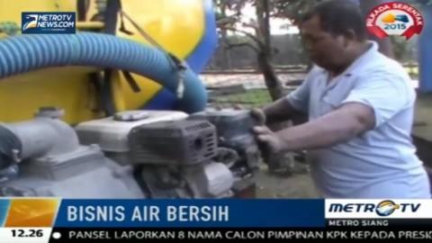 Krisis Air Bersih di Klaten Tingkatkan Omzet Bisnis Angkut Air