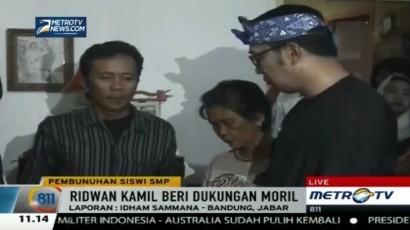 Ridwan Kamil Melayat ke Rumah Duka Prisilia