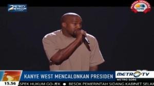 Kanye West Calonkan Diri sebagai Presiden Amerika