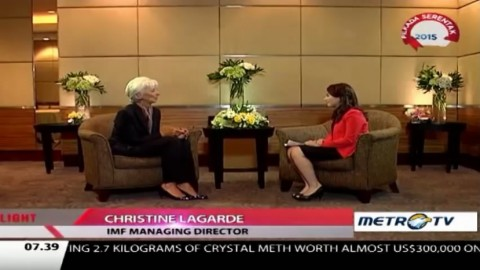 Exclusive Interview with Christine Lagarde