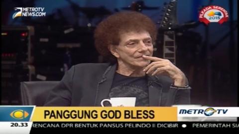 Lagu God Bless Ciptaan Taufik Ismail Jadi Favorit Achmad Albar