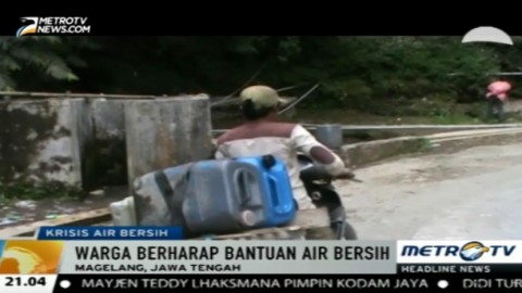 5 Kecamatan di Magelang Krisis Air Bersih