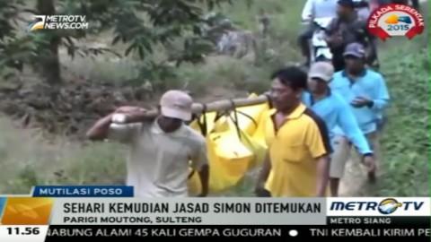 Dua Warga di Sulteng Ditemukan Tewas Termutilasi