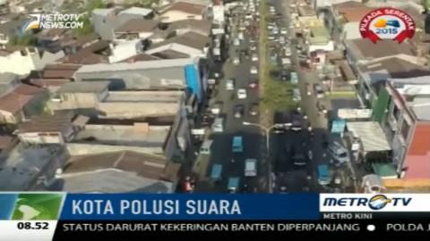 Bunyi Klakson Jadi Polusi Suara di Makassar