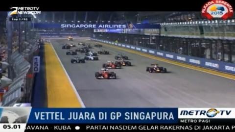Vettel Juara GP Singapura