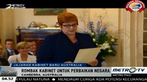 Malcolm Turnbull Umumkan Jajaran Kabinet Barunya