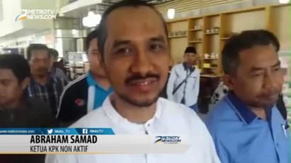 Eksklusif, Abraham Samad Penuhi Panggilan Polda Sulsel