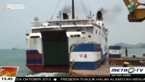 Fasilitas Sandar Kapal Dermaga V Pelabuhan Bakauheni Memprihatinkan