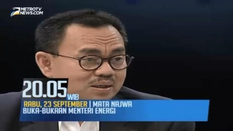 Mata Najwa: Buka-bukaan Menteri Energi