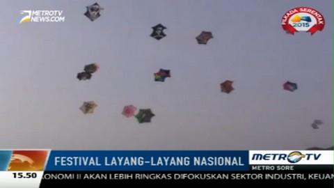 35 Komunitas Ramaikan Festival Layang-layang Nasional 2015
