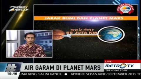Peneliti: Masih Sulit Manusia Tinggal di Mars