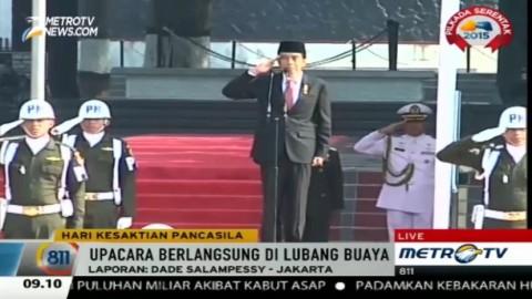 Presiden Pimpin Upacara Peringatan Hari Kesaktian Pancasila