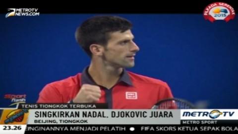 Djokovic Raih Juara di Ajang Tiongkok Terbuka