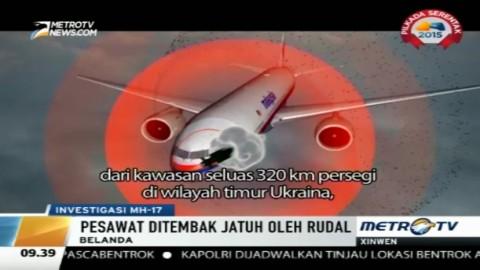 Pesawat MH17 Ditembak Jatuh Rudal Buatan Rusia