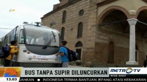 Wow, Ada Bus Tanpa Sopir di Yunani