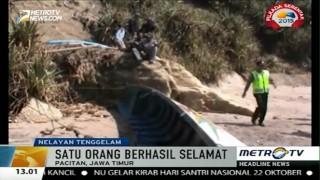 Perahu Dihantam Ombak, Dua Nelayan Asal Pacitan Hilang