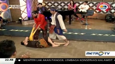 Mengintip Cuplikan Cerita Teater Betawi 'Jawara'