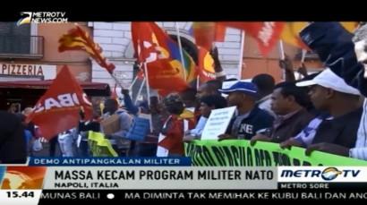Warga Italia Kecam Pelatihan Militer NATO
