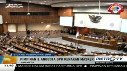 Sidang Paripurna Hari Ini Hanya Dihadiri 284 Anggota DPR