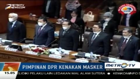 Lima Pimpinan DPR Dikritik karena Kenakan Masker di Sidang Paripurna