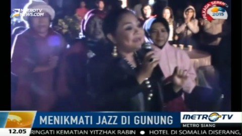 Pagelaran Musik Jazz Digelar di Kawasan Wisata Kawah Ijen