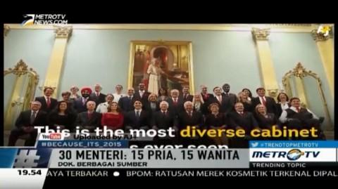 Tempatkan 15 Menteri Wanita di Kabinetnya, Ini Alasan PM Baru Kanada