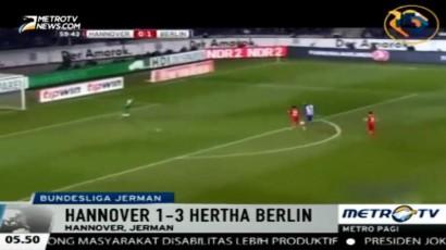 Hannover Takluk di Tangan Hertha Berlin 1-3