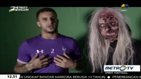 <i>Hii</i>..., Sejumlah Pemain Spurs 'Dikerjai' Hantu