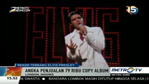 Album Elvis Presley Duduki Posisi 2 Tangga Lagu Inggris