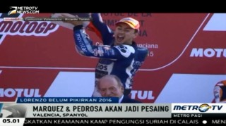 Lorenzo Belum Pikirkan MotoGP Musim Depan