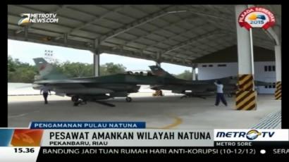 Pesawat Tempur F-16 Perkuat Pertahanan Udara Pulau Natuna
