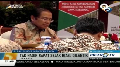 Rizal Ramli Kesal Sudirman Said Tak Pernah Hadiri Rapat