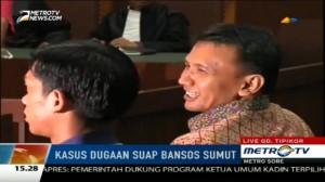 Kasus Bansos Sumut, Gatot Berikan Keterangan Berbeda dengan Istrinya