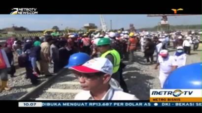 KA Trans Sulawesi Ditargetkan Selesai 2018