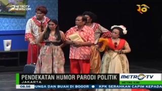 Teater Nyonya Nomor Satu, Hiburan Cerdas Humor Parodi Politik