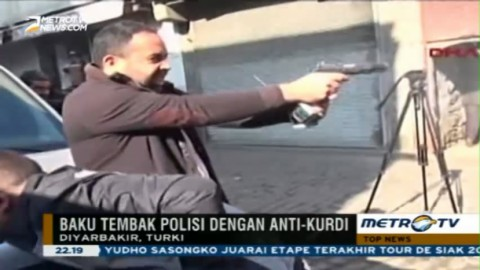 Pengacara Pro Pemberontak Kurdi Tewas Tertembak