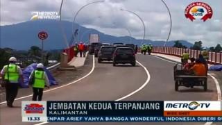 Kembangkan Trans Kalimantan, Pemerintah Fokus Bangun Jembatan Kapuas Tayan