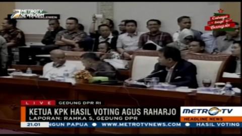 Agus Raharjo Terpilih Jadi Ketua KPK 2015-2019