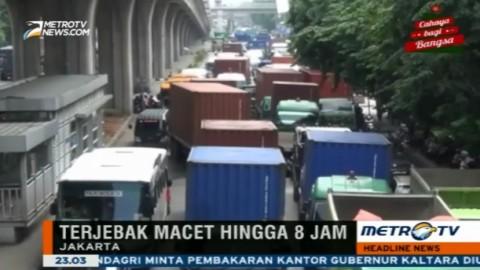 Ini Dugaan Penyebab Beberapa Titik di Jakarta Utara Macet Parah
