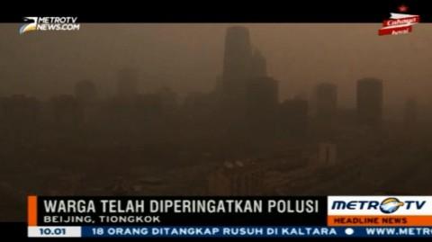 Polusi di Kota Beijing Memprihatinkan