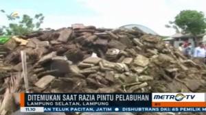 Polres Lampung Selatan Musnahkan 3,5 Ton Ganja