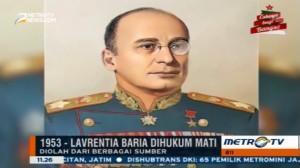 Hari Ini, Kepala Intelejen Uni Soviet Dihukum mati
