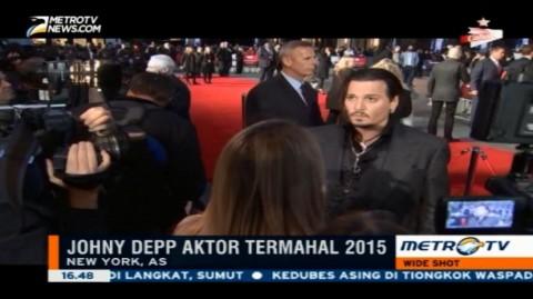 Johny Depp Aktor Termahal 2015 Versi Forbes