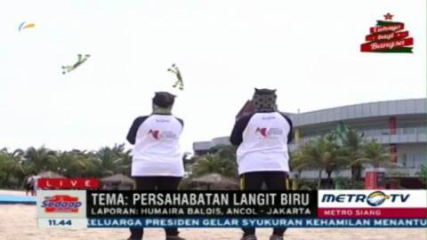 Kemeriahan Jakarta International Kite Festival 2015