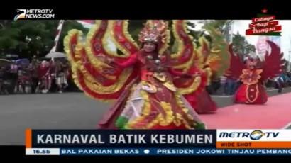 Karnaval Budaya Meriahkan Hari Jadi Kabupaten Kebumen ke-80