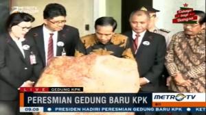Presiden Jokowi Resmikan Gedung Baru KPK