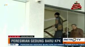 Ditemani SBY, Jokowi Tinjau Gedung Baru KPK